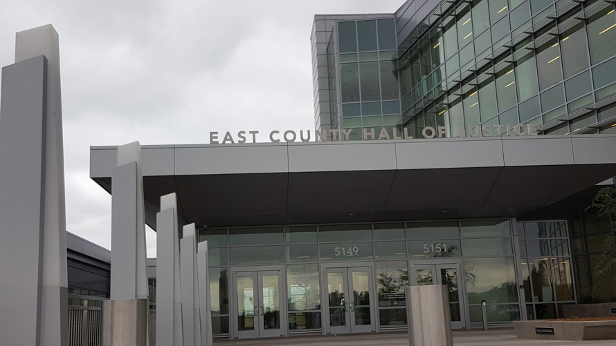 Dublin, CA - East County Hall of Justice