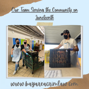 BACL Serving the Community on Juneteenth